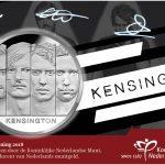 Een gesigneerde Kensington Penning