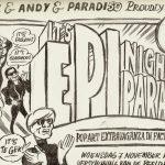 Typex viert verschijning beeldroman over Andy Warhol in Paradiso