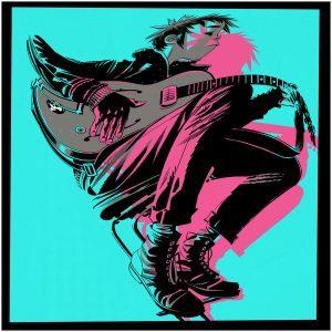 The Now Now, het nieuwe album van Gorillaz op vinyl