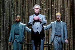 Totale euforie bij David Byrne in AFAS Live