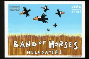 ESNS20: illustrator Willem Kolvoort exposeert zijn Vera-posters