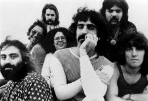 On the road met Frank Zappa in de Verenigde Staten (1971)
