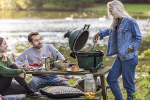 Barbecueën wordt een eitje met de Big Green Egg