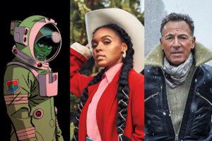 6 tracks: Janelle Monáe, Gorillaz, Bruce Springsteen