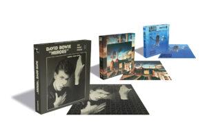 Album Art Puzzel van David Bowie, Nirvana of Pink Floyd