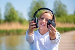 Met deze Sound By Sweden-hoofdtelefoon kun je dagen vooruit