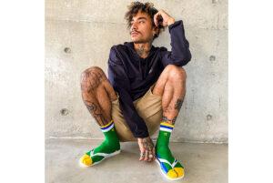De sokken van Havaianas zitten sandálig lekker