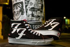 Deze Foo Fighters-sneakers gaan 'everlong' mee